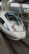 The bullet train to Jinan